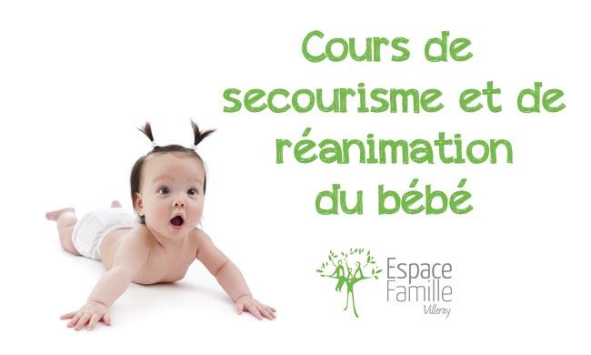 Secourisme RCR du bébé