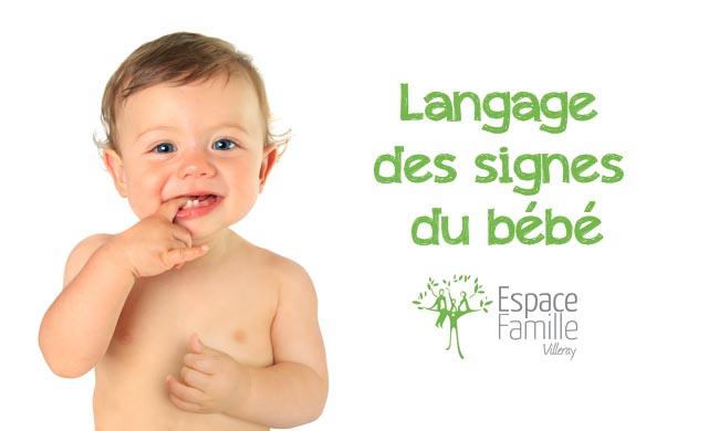 Langage des signes du bébé