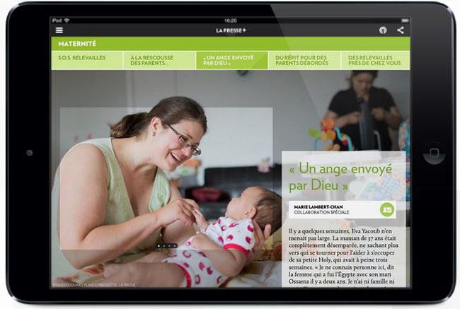 Capture La Presse+ SOS Relevailles - Juillet 2014 - Pt 2